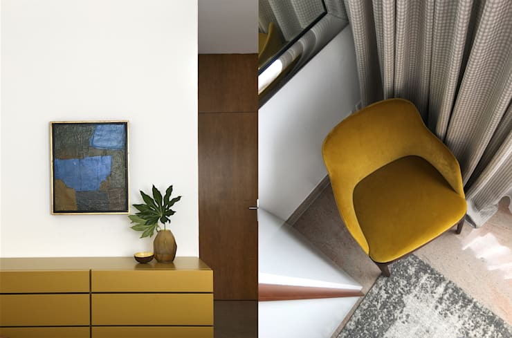 غرفة نوم تنفيذ MD Creative Lab - Architettura & Design