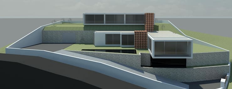 "Moradia Unifamiliar ""VHP"":   por Traço M - Arquitectura"