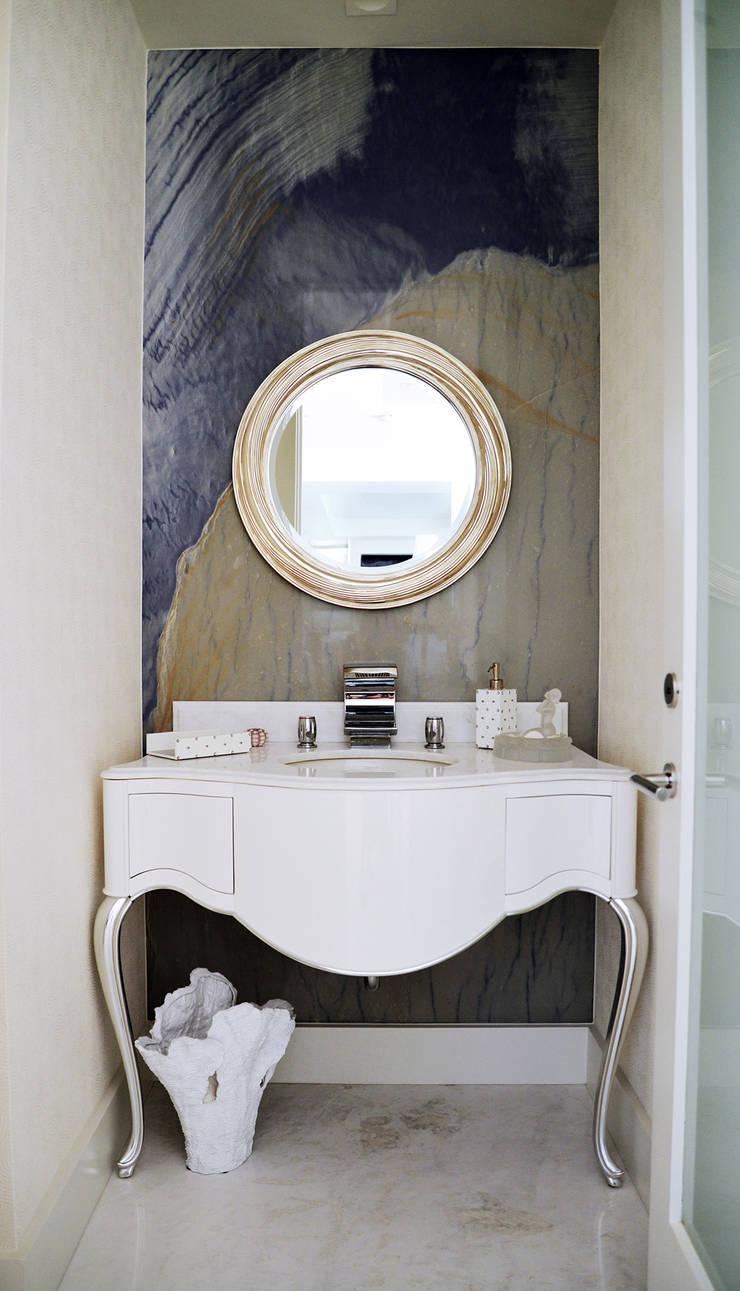 Erika Winters Design:  tarz Banyo