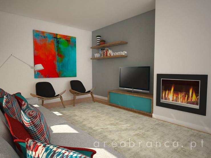 Sala de Estar: Salas de estar  por Areabranca