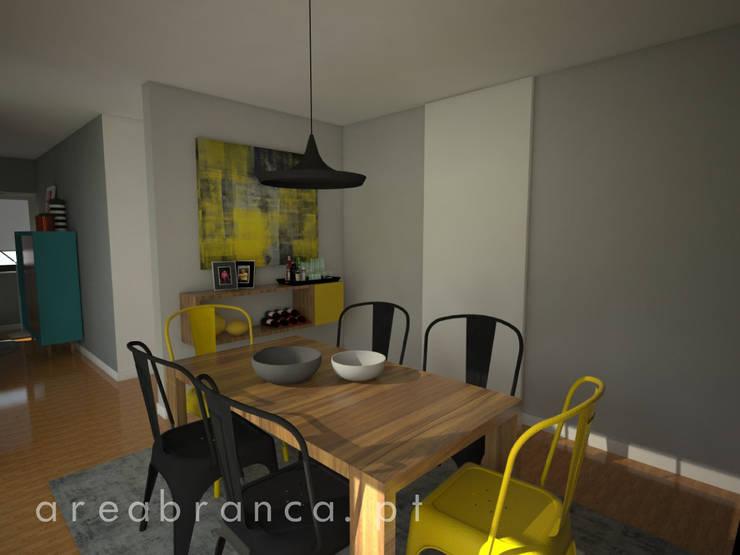 sala de Jantar: Salas de jantar  por Areabranca