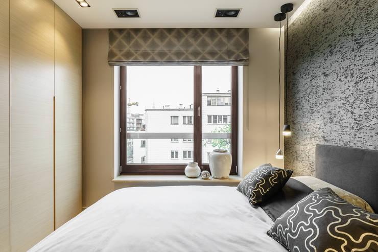 Спальни в . Автор – Anna Serafin Architektura Wnętrz