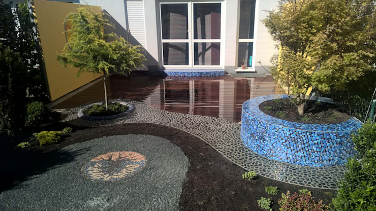 Сады в . Автор – Neues Gartendesign by Wentzel