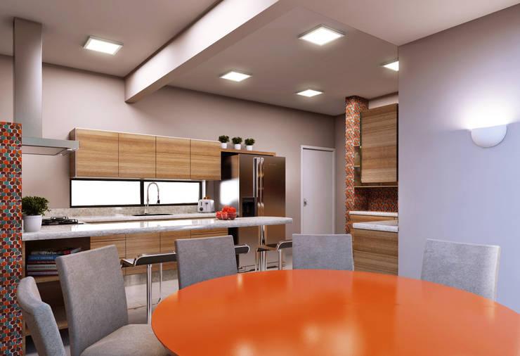 Cozinhas  por canatelli arquitetura e design
