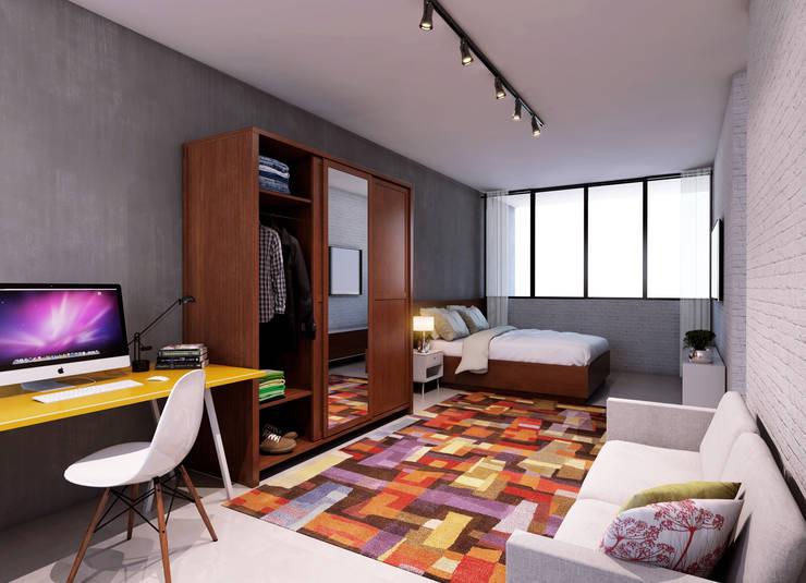 Bedroom by Lozí - Projeto e Obra