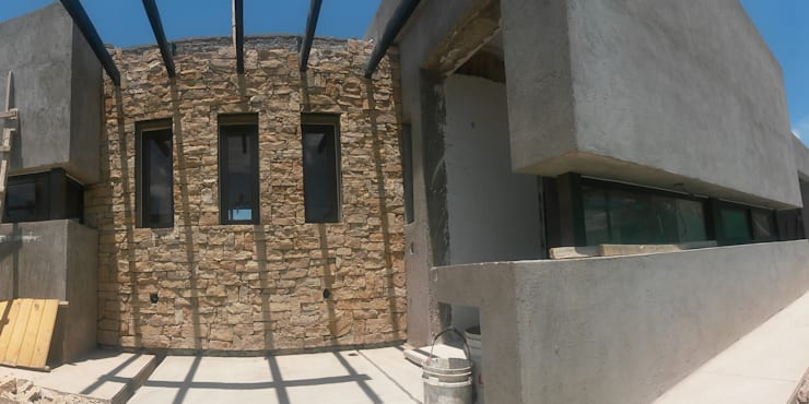 casa S: Casas de estilo  por modulo cinco arquitectura