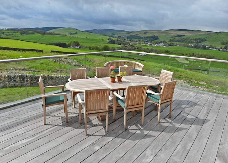 Three Glens, Dumfries:  Terrace by Mark Waghorn Design