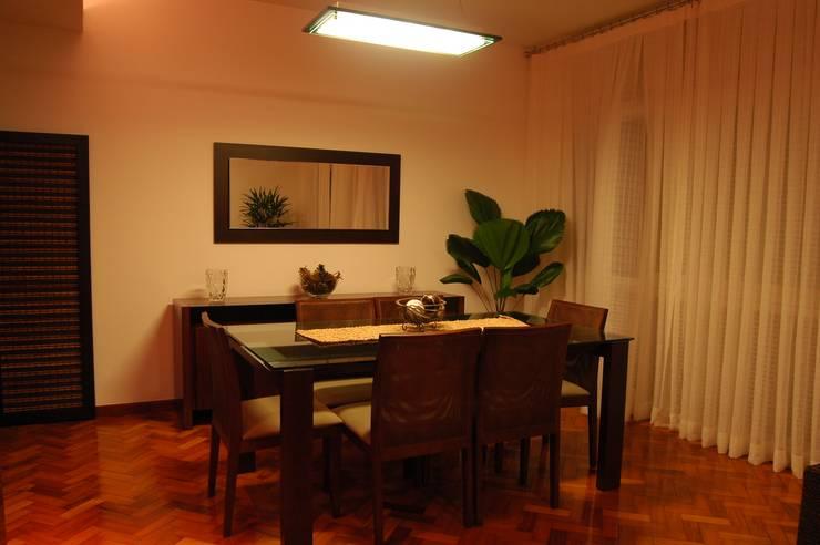 Projeto: Salas de jantar modernas por Staff Arquitetura e Engenharia