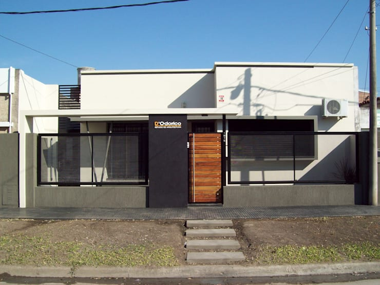辦公室&店面 by D'ODORICO OFICINA DE ARQUITECTURA