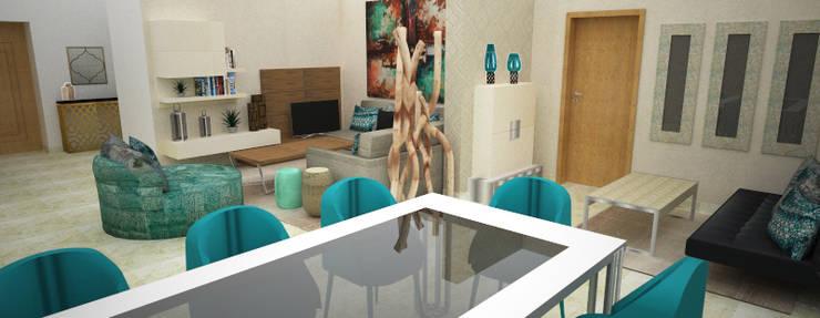 Casa de Jantar:   por Atelier  Ana Leonor Rocha