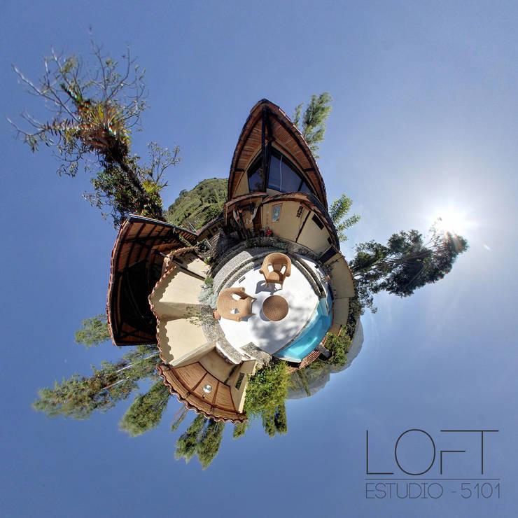 Catalejo Estudio:  de estilo  por Loft estudio C.A.