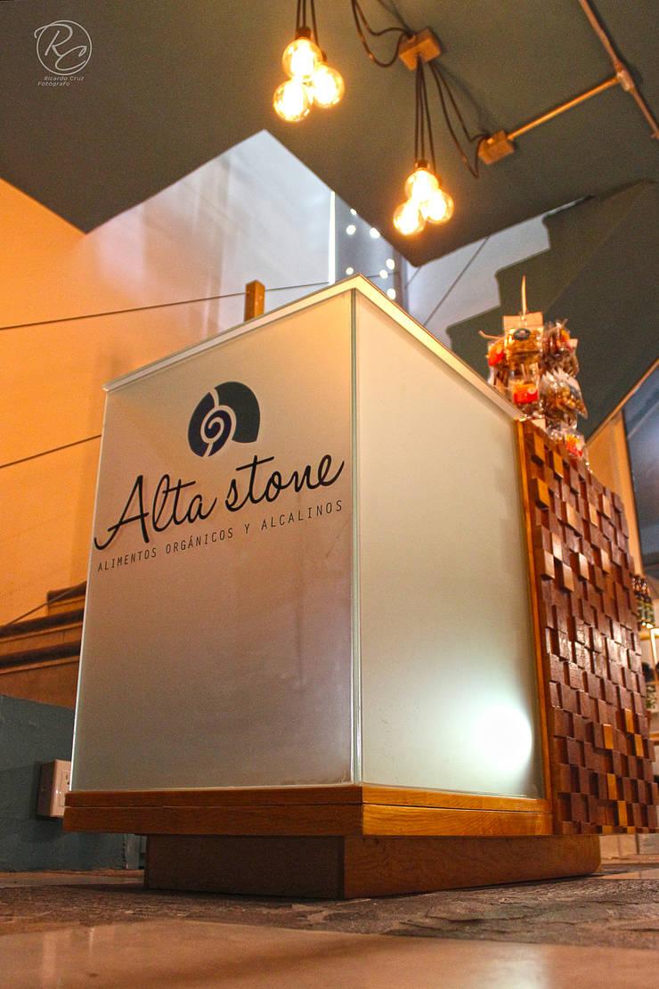 Alta Stone: Escaleras de estilo  por Alfagrama estudio