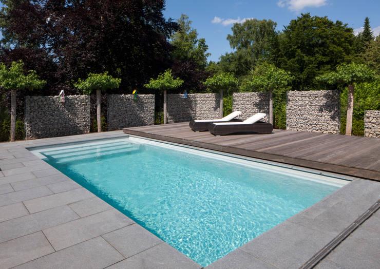 gfk pool mit mobiler sicherheits terrasse von hesselbach. Black Bedroom Furniture Sets. Home Design Ideas