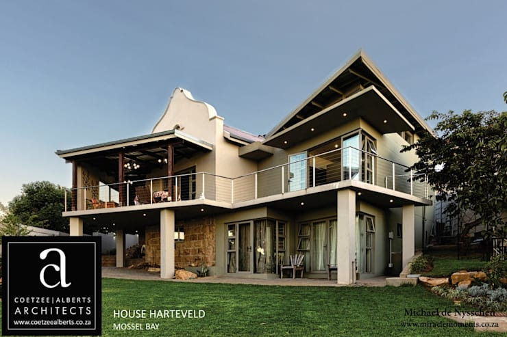 de estilo  por Coetzee Alberts Architects