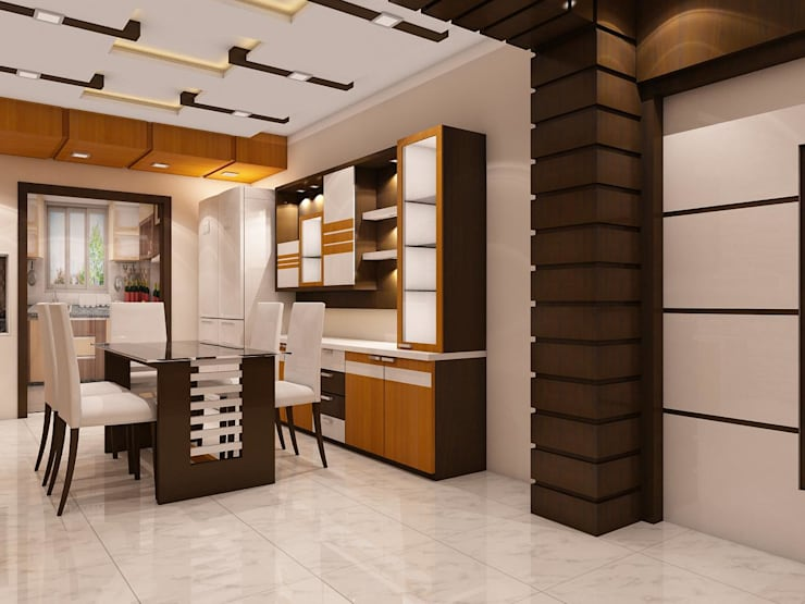 Newtown Project: modern  by Creazione Interiors,Modern