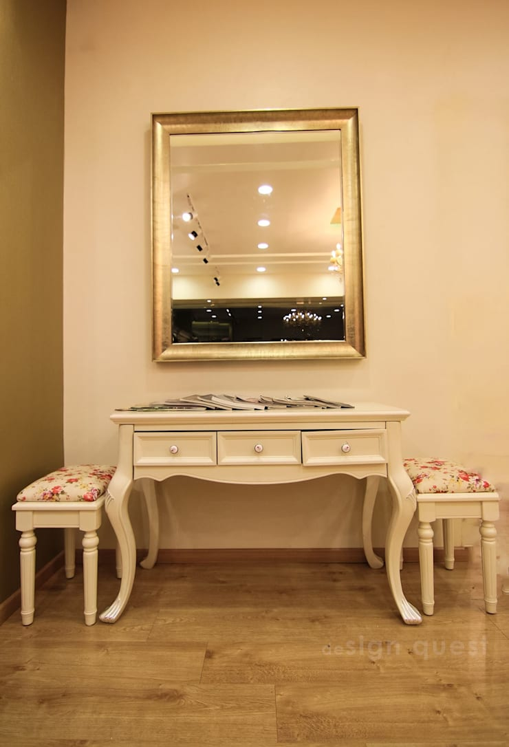 The Fair Lady Designer Boutique  :  Dressing room by Design Quest Architects