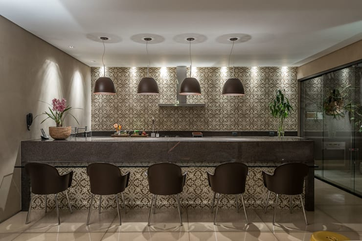 Projeto DSC: Casas modernas por Andréa Buratto Arquitetura & Decoração