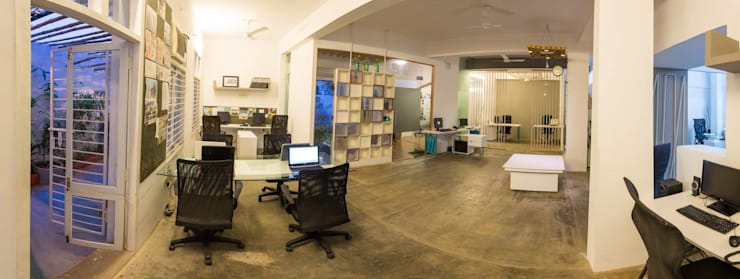 The Atelier—Design Quest Office Space :  Office buildings by Design Quest Architects,Eclectic