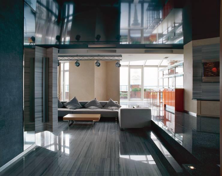 Гостиная: Гостиная в . Автор – Архитектурное бюро 'Дом-А'