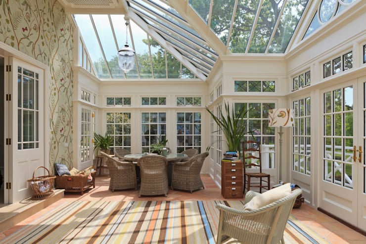 Grand Conservatory on a Substantial Channel Islands Property:  Conservatory by Vale Garden Houses