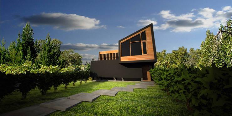Casa Irigoyen: Casas de estilo  por AHA! Arquitectura