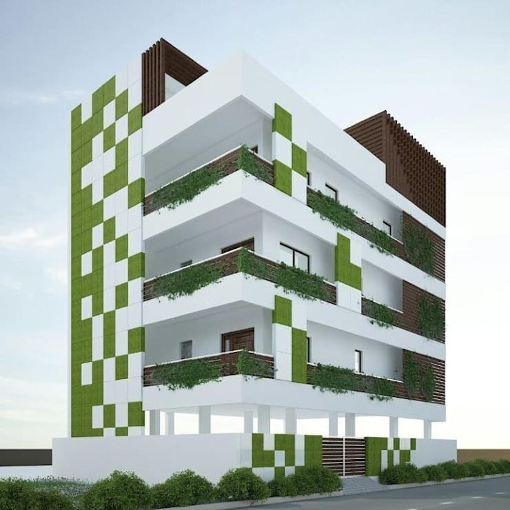 Residence @ vizag:   by SunDial Associates