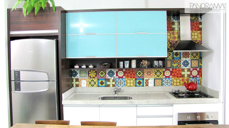 eclectic Kitchen by PANORAMA Arquitetura & Interiores