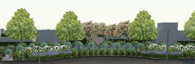canteros: Jardines de estilo  por BAIRES GREEN