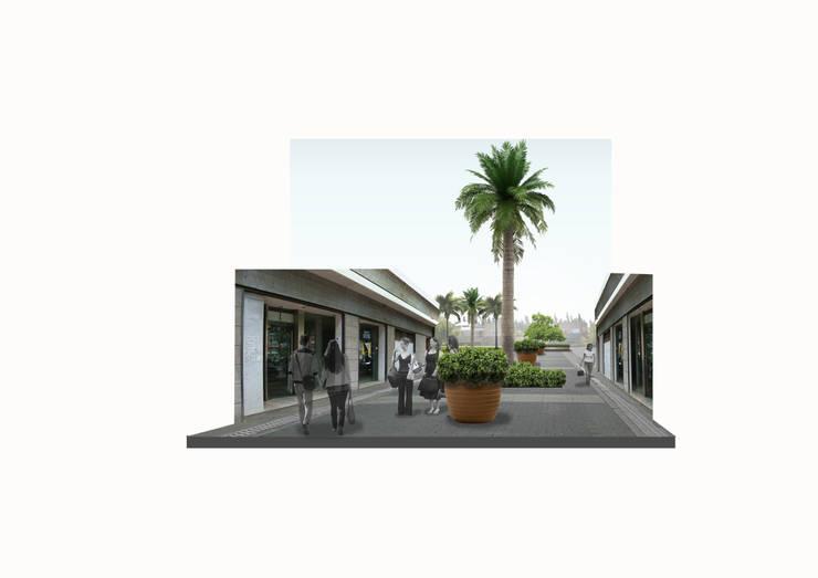 centro comercial: Casas de estilo  por BAIRES GREEN