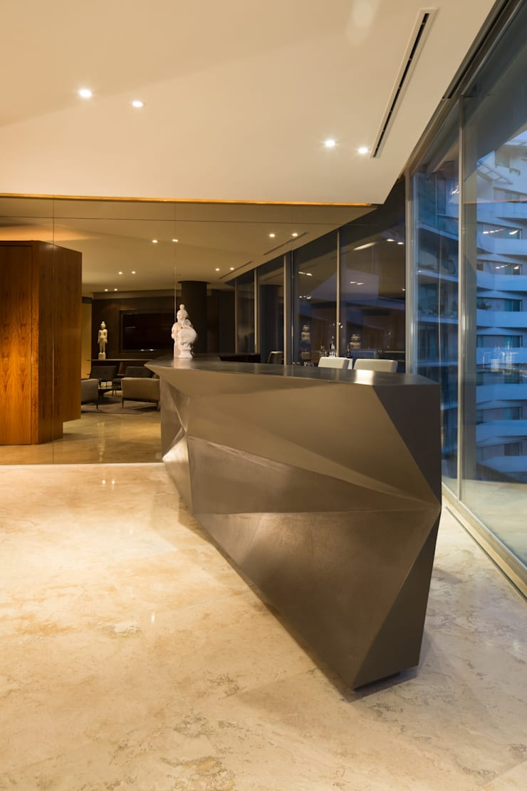 Departamento PC: Salas de estilo  por Línea Vertical