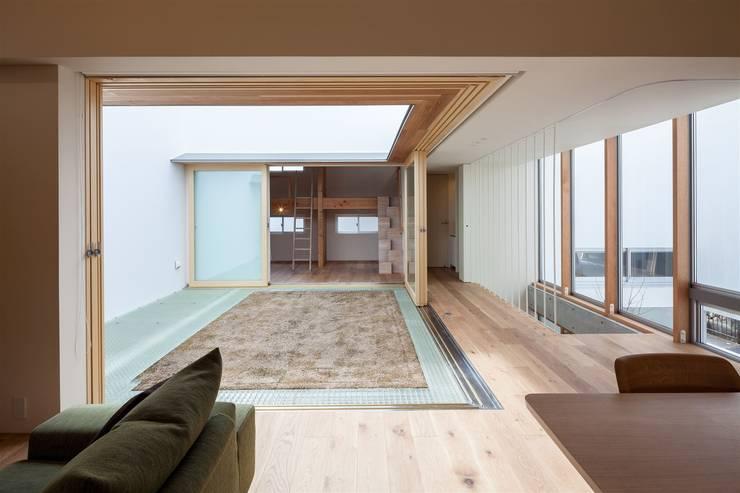 庭院 by 有限会社ミサオケンチクラボ