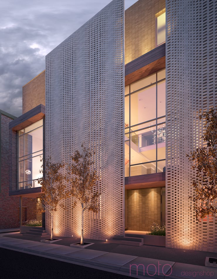 Walnut Estates : modern Houses by Moto Designshop