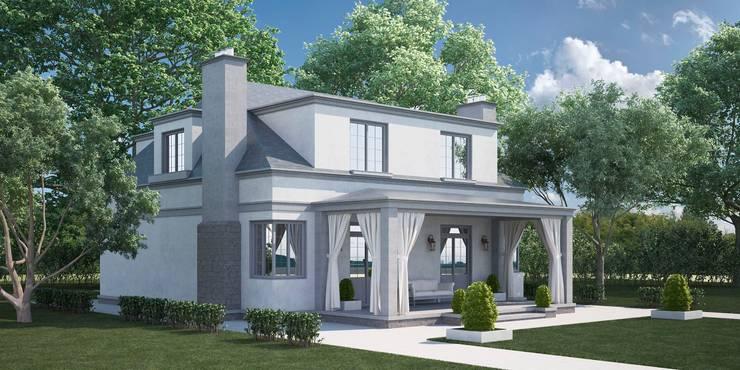 Проект дома в итальянском стиле: Дома в . Автор – Way-Project Architecture & Design