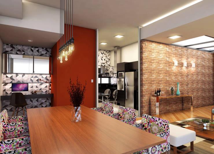 Cocinas de estilo  por Lozí - Projeto e Obra