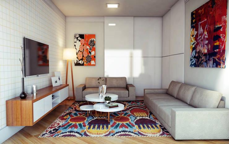 Phòng giải trí by Lozí - Projeto e Obra
