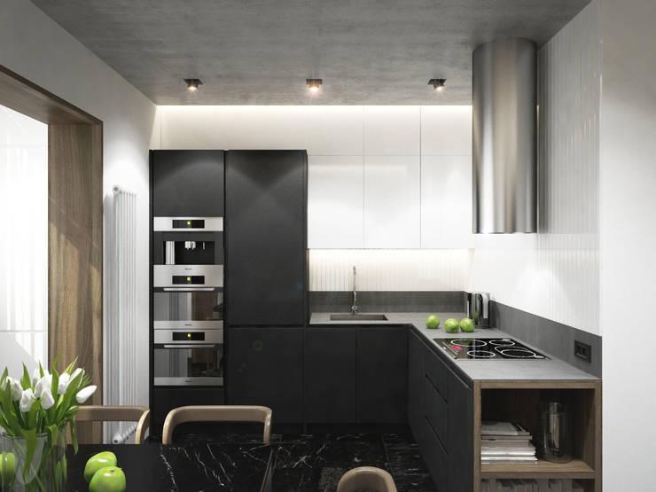 Квартира 100кв.м/ г.Домодедово: Кухни в . Автор – insdesign II