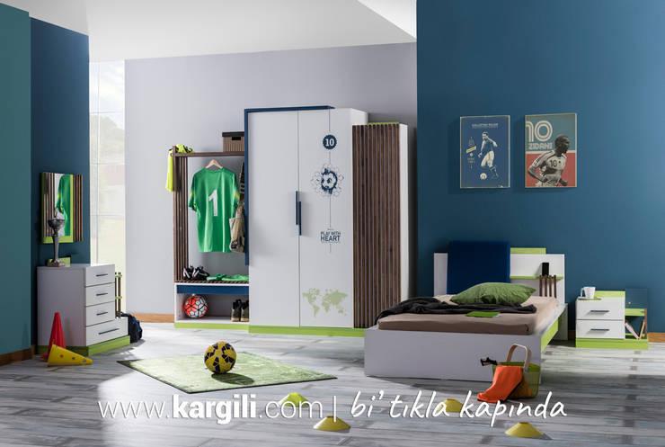 Kargılı Ev Mobilyaları – Legend Genç Odası Takımı:  tarz Çocuk Odası