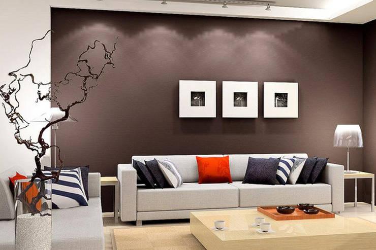 House Interiors:  Walls by Innovate Interiors & Fabricators