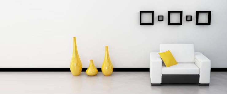 House Interiors:  Living room by Innovate Interiors & Fabricators