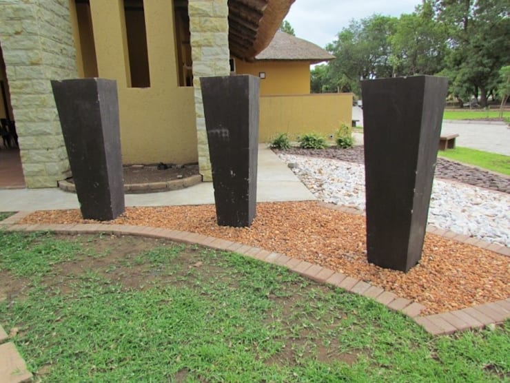 Giyani Tourism Information Centre:   by Mohlolo Landscape Architects