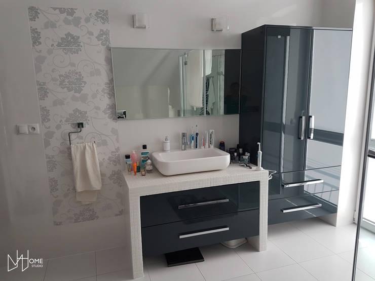 Łazienka przed: styl , w kategorii Łazienka zaprojektowany przez Mhomestudio