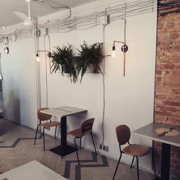 Bars & clubs by Sic! Zuzanna Dziurawiec, Eclectic Bricks
