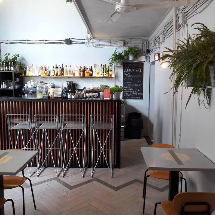 Bars & clubs by Sic! Zuzanna Dziurawiec, Eclectic Copper/Bronze/Brass