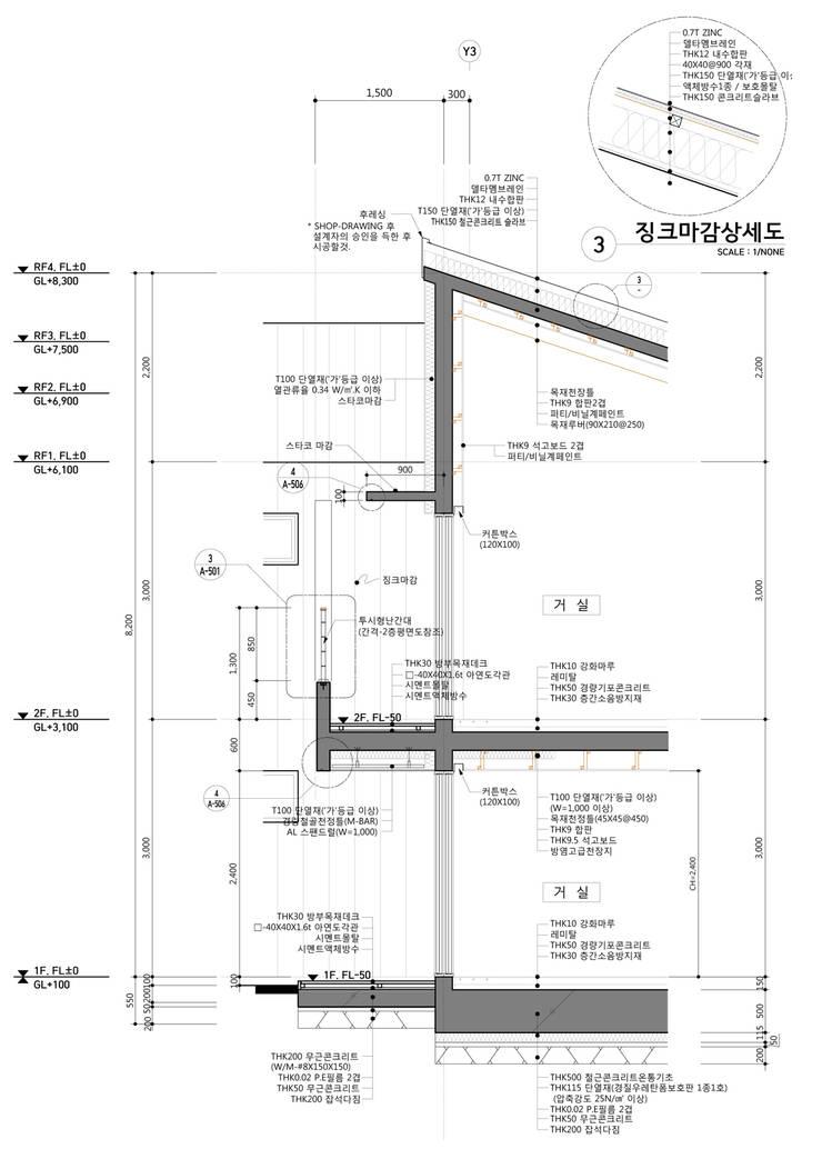 약사동 B:um-house: 건축사사무소 카안  Architect firm KAAN의