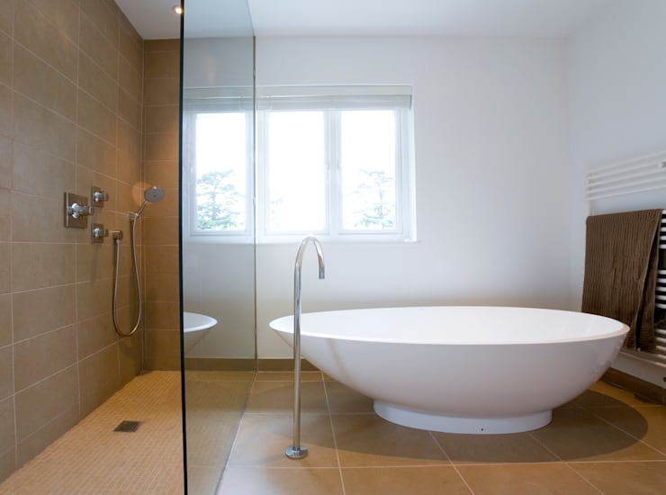 Casa-de-banho: Casas de banho modernas por Architect Your Home