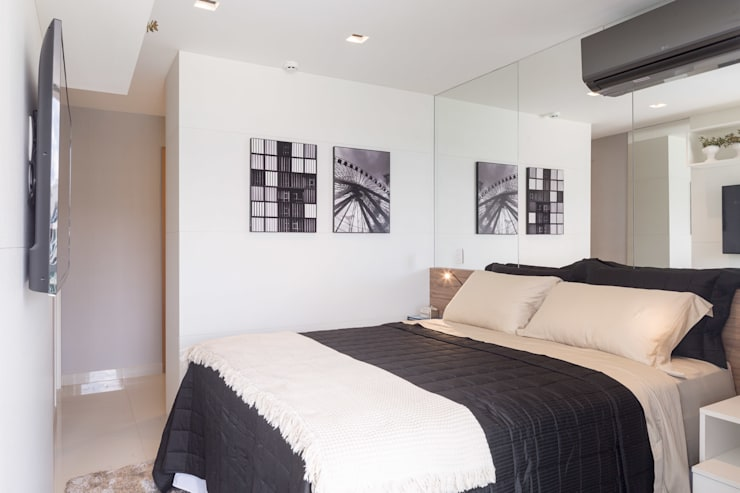 modern Bedroom by Joana França