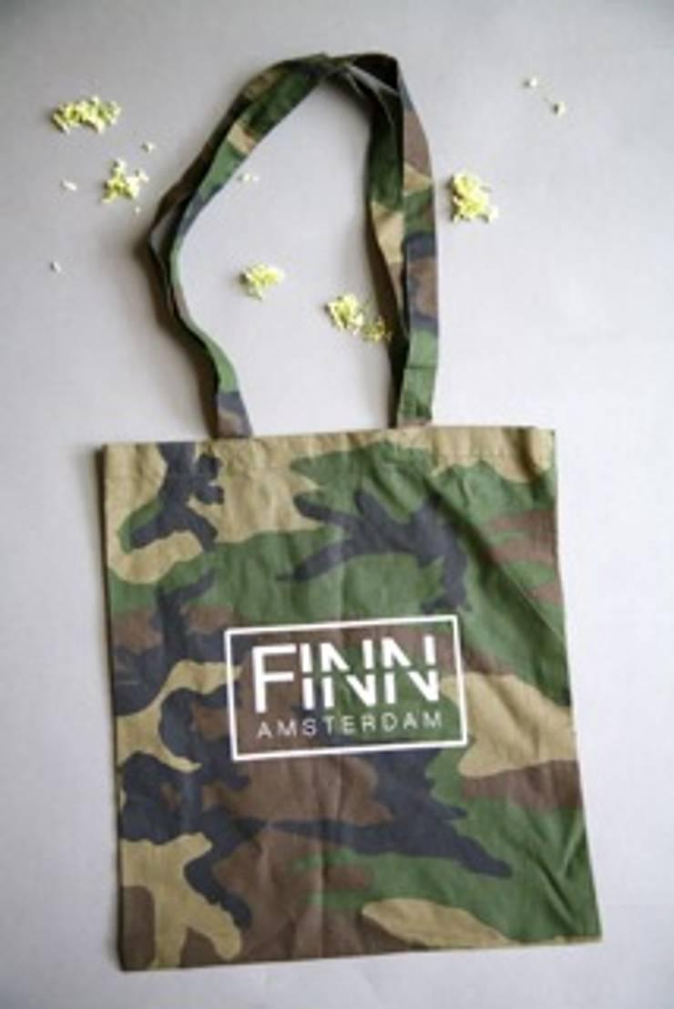 Katoenen tassen:  Kleedkamer door Finn Amsterdam, Modern