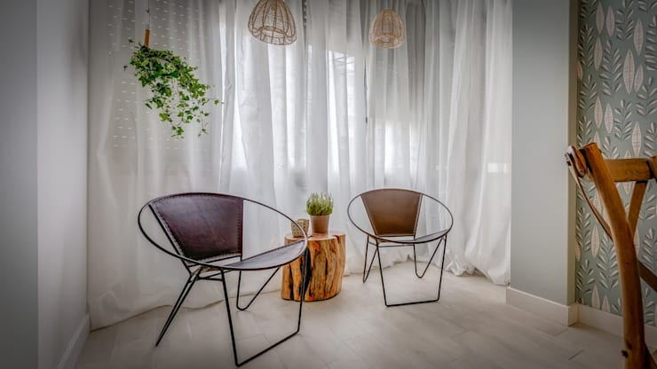 scandinavian Dining room by homify