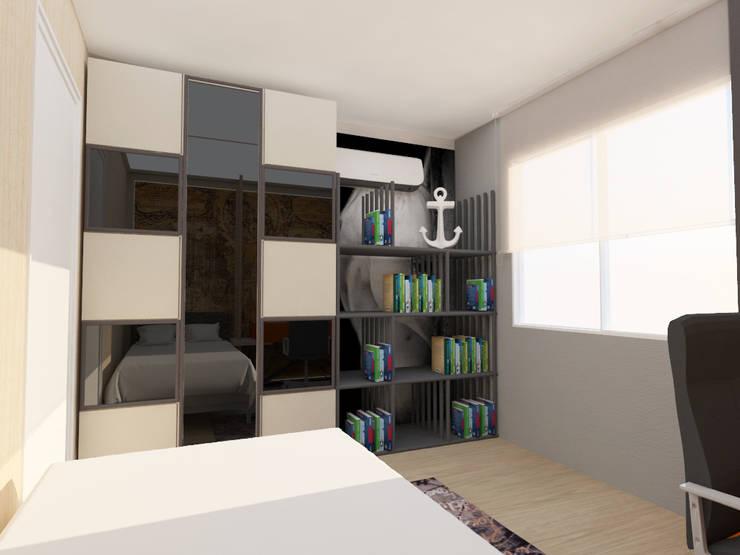 Dormitorios infantiles  de estilo  por FARGO DESIGNS