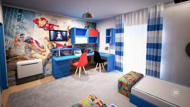 Детские комнаты в . Автор – GRAÇA Decoração de Interiores